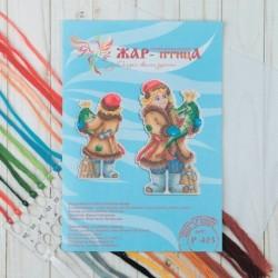 Набор для вышивания 'По велению Емели' 19x11 см