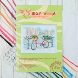Набор для вышивания 'На мосту' 22x18 см