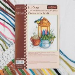 Набор для вышивания мулине 'Искра весны ' 27x32 см