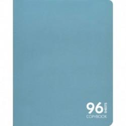 Тетрадь 'Голубая ель', А5, 96 листов, клетка