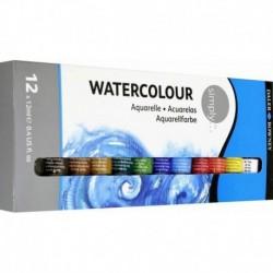 Краски акварельные 12цв, 12мл 134500100