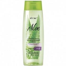 Aloe 97%. Шампунь-balance Балансирующий уход для волос, жирных у корней и сухих на кончиках, 400мл