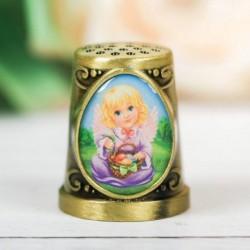 Наперсток пасхальный «Ангел», 2,2 x 2,5 см