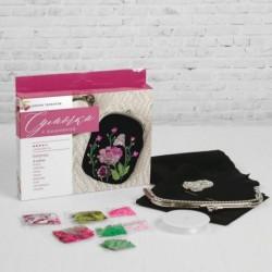 Набор для вышивания бисером на сумке 'Пионы'