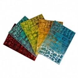 Коврик с шипами JOY, 38,5x25,5х1,5 (цвет в ассортименте)