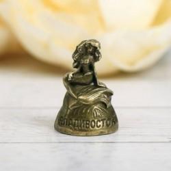 Напёрсток сувенирный «Владивосток», латунь
