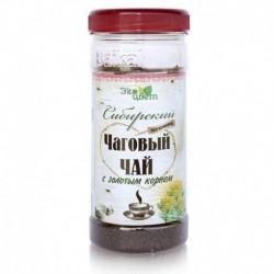 Сибирский чаговый чай с золотым корнем, 90 гр