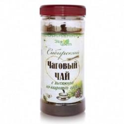 Сибирский чаговый чай с вытяжкой из кедрового ореха, 90 гр