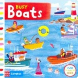 Busy Boats (board bk)