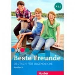 Beste Freunde. Deutsch fur Jugendliche. Kursbuch. A1.2