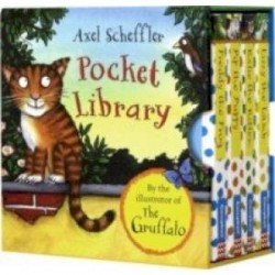 Axel Scheffler Pocket Library. Box set of 4 mini books