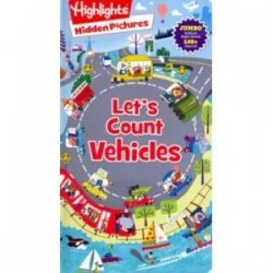 Highlights Hidden Pictures: Let's Count Vehicles