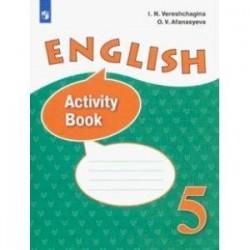 Английский язык. 5 класс. Рабочая тетрадь. ФГОС