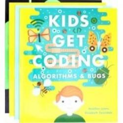 Kids Get Coding 4 books shrinkwrapped