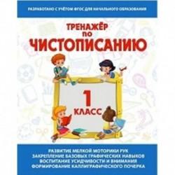 Тренажер по чистописанию 1 класс .Русский язык