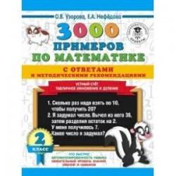 Математика. 2 класс. Устный счет. Табличное умножение и деление. 3000 примеров