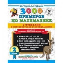 3000 примеров по математике с ответами и методическими рекомендациями.
