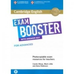 Cambridge English Exam Booster for Advanced with Answer Key with Audio Photocopiable Exam Resources