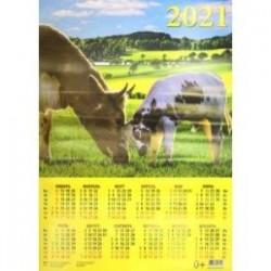Календарь настенный на 2021 год 'Хорошо с мамой поиграть' (90124)