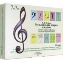 Музыкальная теория в картах. Полный курс сольфеджио наглядно и увлекательно. Учебное пособие