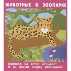 Животные в зоопарке. Набор развивающих карточек