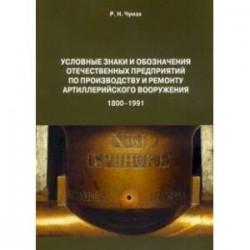 Условные знаки и обозначения отечественных предприятий по производству и ремонту артиллер.вооружения