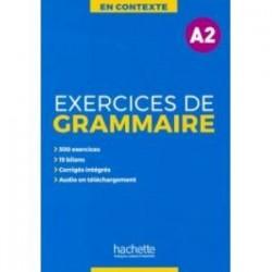 Exercices de grammaire A2 + audio MP3 + corriges