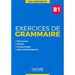 Exercices de grammaire B1 + audio MP3 + corriges