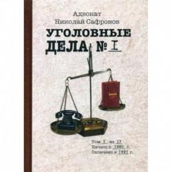 Уголовные дела адвоката