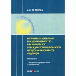 Проблемы защиты права на судопроизводство в разумный срок в гражданском и арбитражном процессах в Российской Федерации