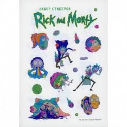 Набор стикеров 'Рик и Морти'