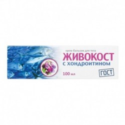Живокост крем-бальзам с хондроитином для тела туба, 100 мл