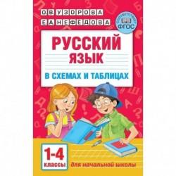 Русский язык. 1-4 классы. В схемах и таблицах