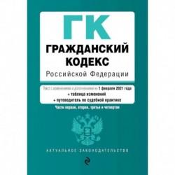 Гражданский кодекс Российской Федерации. Части первая, вторая, третья и четвертая. Текст с изменениями и дополнениями