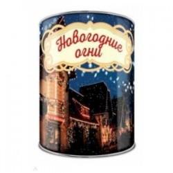 Волшебная банка 'Новогодние огни' (тосты и задания)