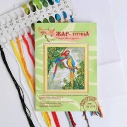 Набор для вышивания «Ярких красок хоровод» 16x14 см
