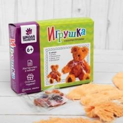 Набор для создания игрушки из плюша «Медвежонок» + игла, инструкция