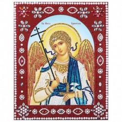 Картина фигурными стразами 'Святой Ангел Хранитель' 20x25см