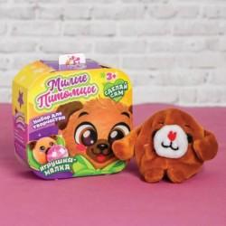 Набор для творчества «Мялка с растущими шариками: Мопсик»