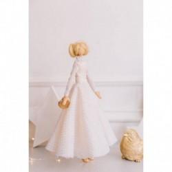 Мягкая кукла Ребекка, набор для шитья 21x0,5x29,7 см