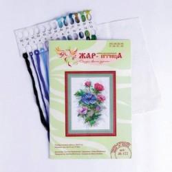 Набор для вышивания «Цветы осени» 18x15 см