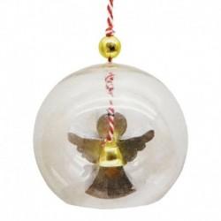 Набор для творчества - создай ёлочное украшение «Ангел в шаре»