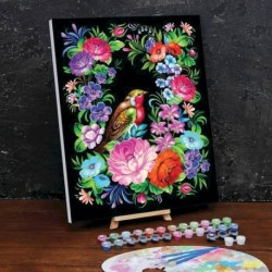 Картина по номерам на холсте с подрамником «Жостово» 40x50 см