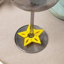 Декор для бокала 'Звезда' 6 см, 100% п/э, фетр