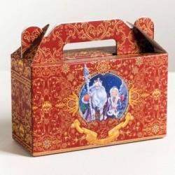 Складная коробка «Подарок», 17x15x7 см, вместимость - 700 гр.