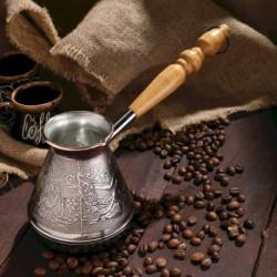Турка для кофе медная «Восточная», 0,5 л