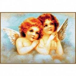 Алмазная мозаика 'Ангелочки', 21 цвет
