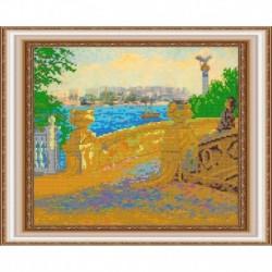 «Светлица» набор для вышивания бисером №440 «Крым. Мост влюбленных» бисер Чехия 30x24см