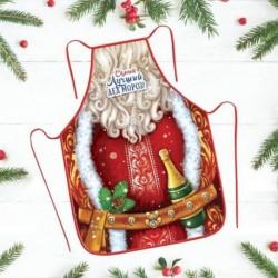 Фартук Новый год «Самый лучший Дед Мороз» 50x70 см
