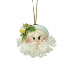 Новогодний шар из фоамирана «Дед Мороз»
